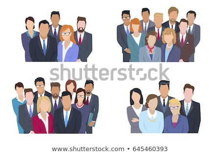 Business people looking at viewer Stock photo © IS2