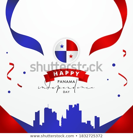 Panama country flag of panamanian nation Stock photo © cienpies