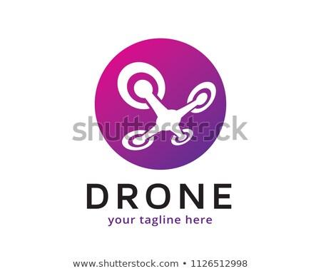helicóptero · preto · vetor · ícone · projeto · negócio - foto stock © ggs