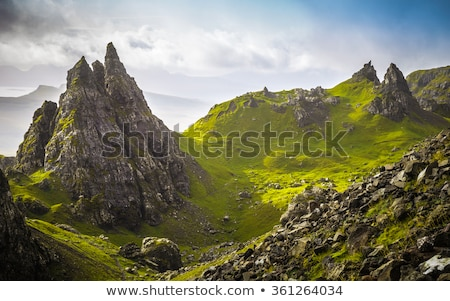 The Storr - Isle Of Skye Landscape In Scotland Stock photo © solarseven