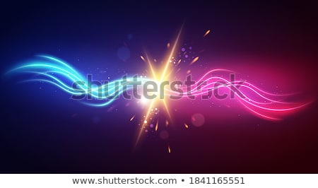 éber · felirat · kék · vektor · ikon · terv - stock fotó © linetale