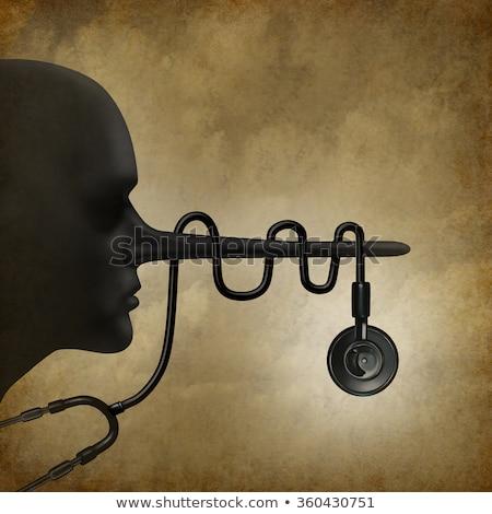 médico · caucásico · doctor · de · sexo · masculino - foto stock © lightsource