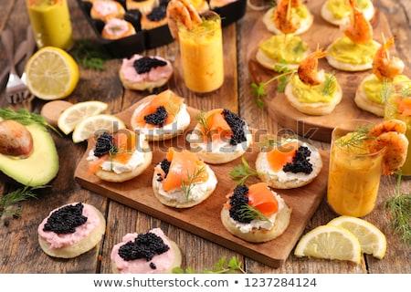 Kloáka étel háttér étterem sajt eszik Stock fotó © M-studio