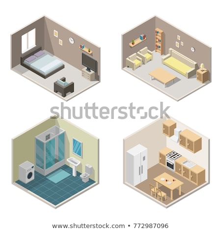 Stockfoto: Gas Color Isometric Icons