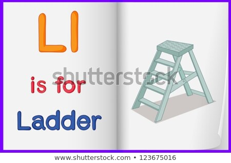 A letter L for ladder stock photo © colematt