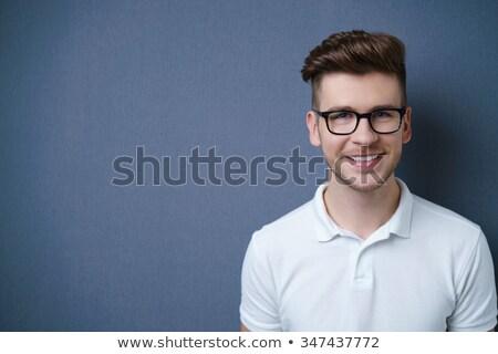 Fej vállak portré fiatalember stúdió szexi Stock fotó © monkey_business