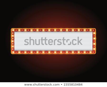 Circus teken sjabloon illustratie licht achtergrond Stockfoto © bluering