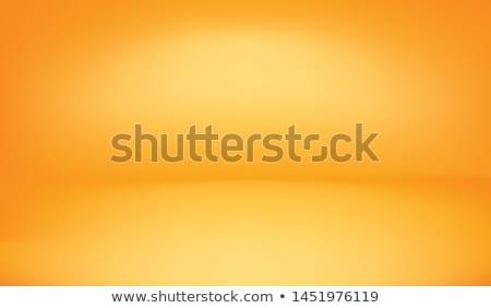 Halloween scene on orange background Stock photo © neirfy