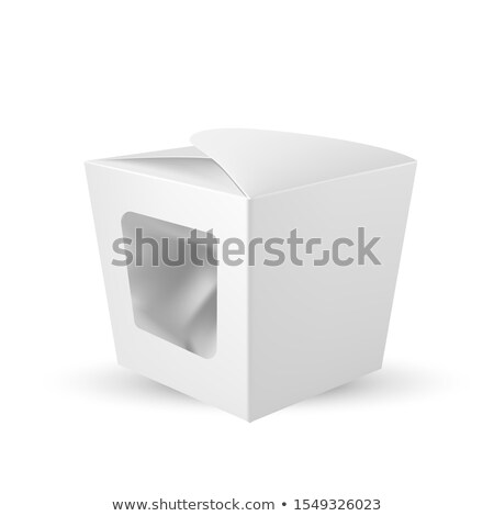 Box With Plastic Window For Chocolate Candy Vector Stock photo © pikepicture
