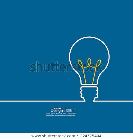 Teamwork Developing Idea Light Bulbs Concept Stock photo © ivelin