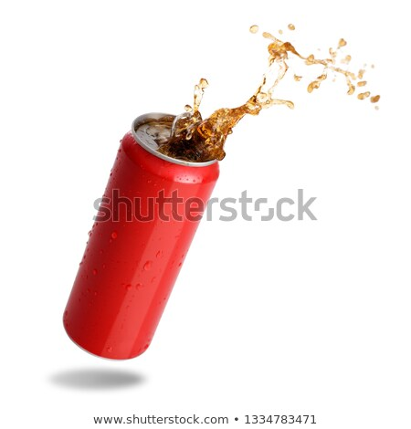 Flowing Cola can Stock photo © tilo
