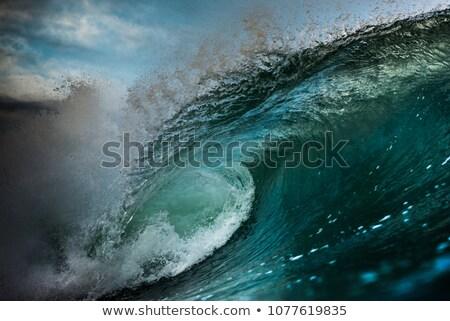 Oceaan Ierland water landschap Stockfoto © borisb17