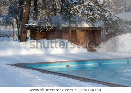 Bath house sauna hot water Stock photo © netkov1