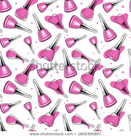 Vector illustratie manicure Stockfoto © balabolka