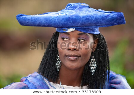 herero african woman Stock photo © poco_bw