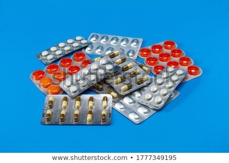 таблетки Pack макроса мнение рельеф фон Сток-фото © AGorohov