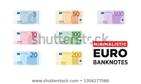 Cüzdan banka notlar siyah yirmi on Stok fotoğraf © luapvision