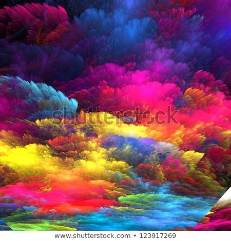 Foto stock: Abstrato · amarelo · rosa · flores · estúdio
