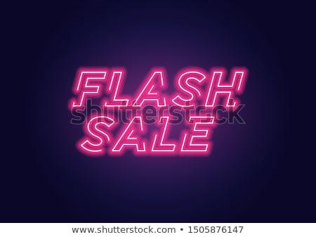 bright neon flash stock photo © imaster