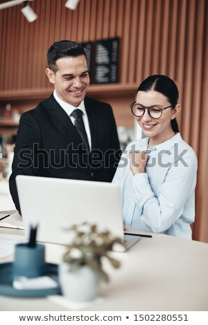 Two lawyers going over notes Stock photo © photography33