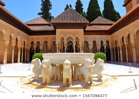 iç · İspanya · Bina · sanat · mimari · tarih - stok fotoğraf © neirfy
