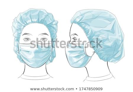 pielęgniarki · telefon · recepcji · szpitala · kobieta · uśmiechnięty - zdjęcia stock © photography33