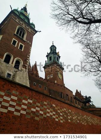 Краков старый город замок оранжевый ярко Сток-фото © Estea