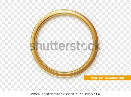 shining golden rings Stock photo © marinini
