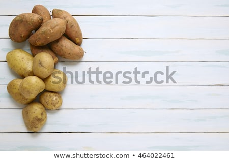 Frame of Raw Potato Stock photo © zhekos