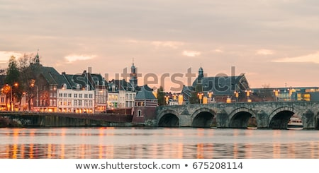 Maastricht houses Stock photo © Hofmeester