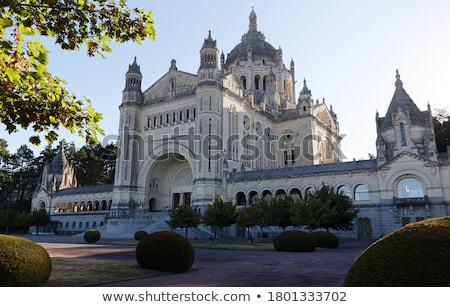 Basilica of Lisieux (Normandy, France) Stock photo © tilo