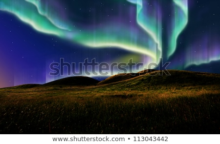 The Northern Lights Rising Stock photo © solarseven