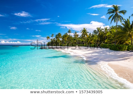 beautiful seascape of maldives stock photo © get4net