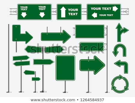 Sign highway Stock photo © Ustofre9