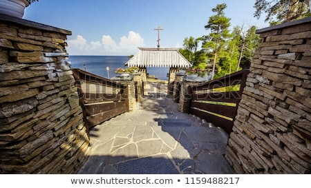 Russian Orthodox christian church on Valaam Island, Ladoga Lake stock photo © snyfer