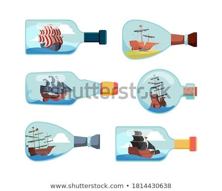 model of ship  Stock photo © jonnysek