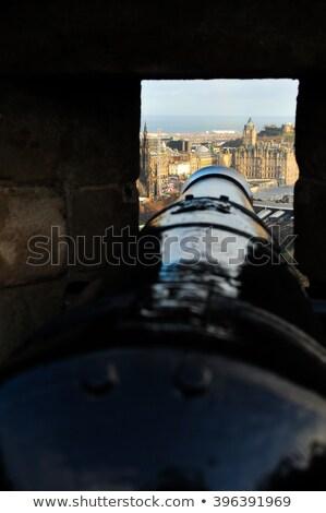 Canon at Edinburgh Castle Stock photo © vichie81