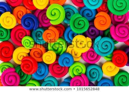 Background with colorful modeling clay Stock photo © Zerbor