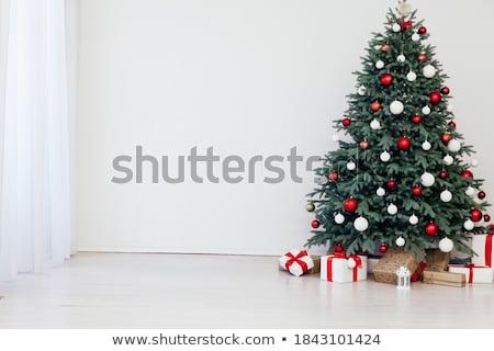 österreich Weihnachtsbaum.Schönen Weihnachtsbaum Traditionellen Baum Kugeln