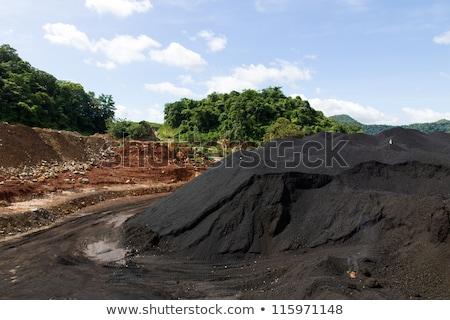 石炭 在庫 中古 業界 作業 ストックフォト © stoonn