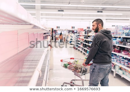 running on empty   shopping cart stock photo © iqoncept