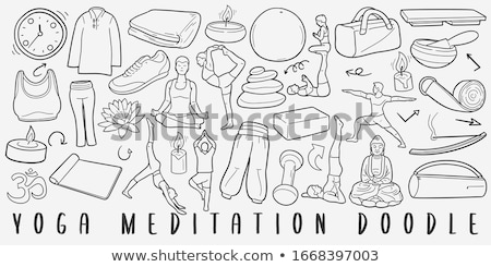 йога рук медитации воды здоровья красоту Сток-фото © pxhidalgo