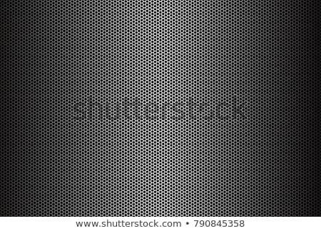 Metaal grid bouw ontwerp industriële zwarte Stockfoto © shawlinmohd