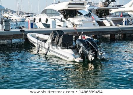 Boats Docked to a Marina Stock photo © Frankljr