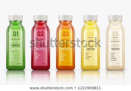 bottle with green grasses Stock photo © shawlinmohd