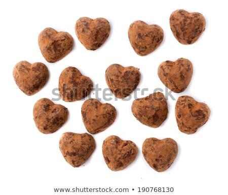 Chocolates truffles in bulk for Valentine's Day. Stock photo © RuslanOmega