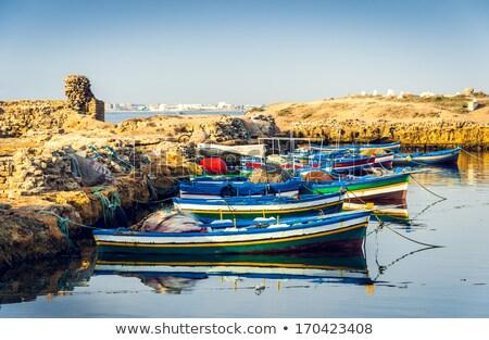 Ancient Phoenician Port of Mahdia Stock photo © Kayco