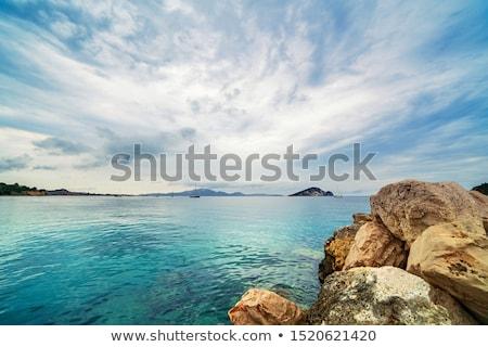 Liman plaj zakynthos Yunanistan Stok fotoğraf © Mps197
