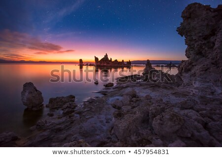 Mono Lake Sunrise Stock photo © pancaketom