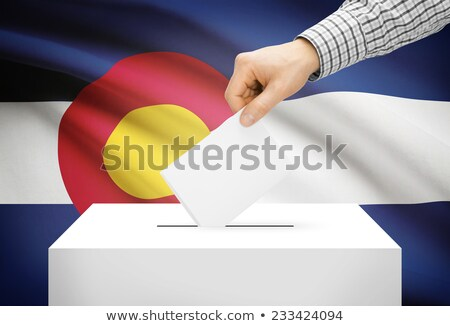 Ballot box Colorado Stock photo © Ustofre9